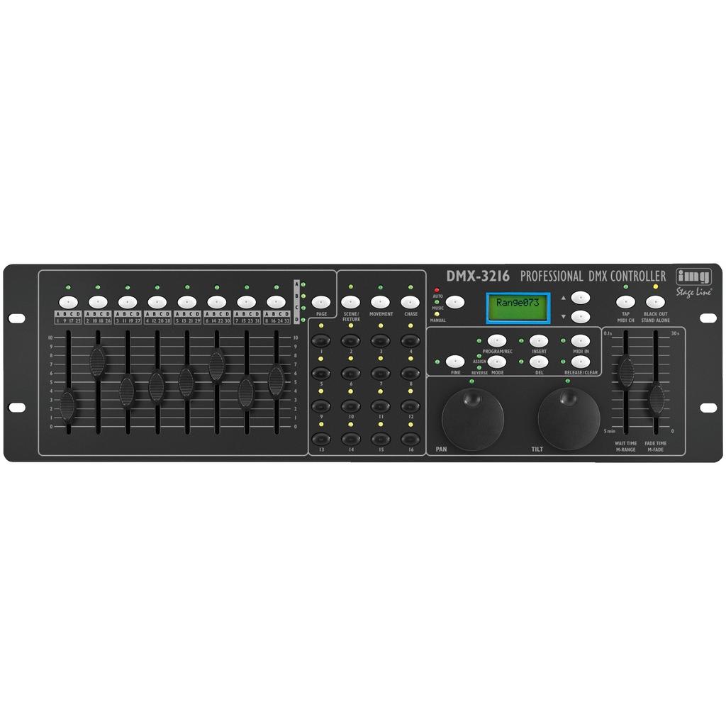 DMX lys control