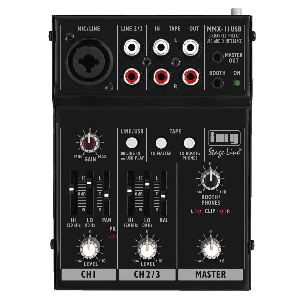 Mixer til lydudstyr