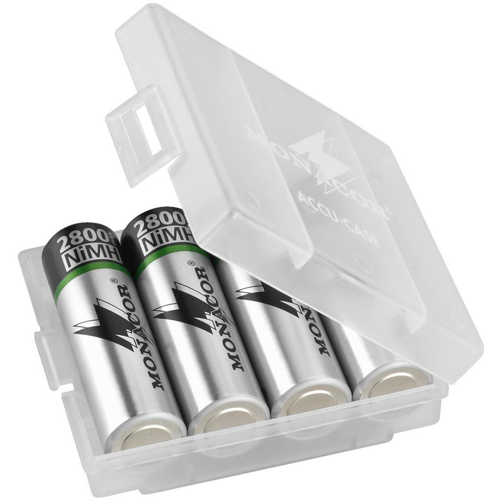 Image of   ACCU-CASE Transportæske til batterier str. AA og AAA