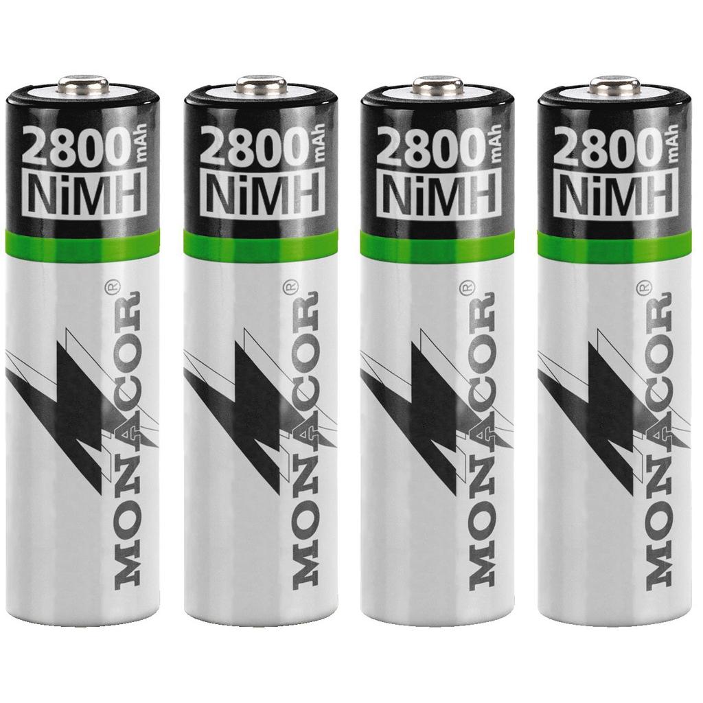 Image of   Batteripakke NIMH AA NIMH-2800/4
