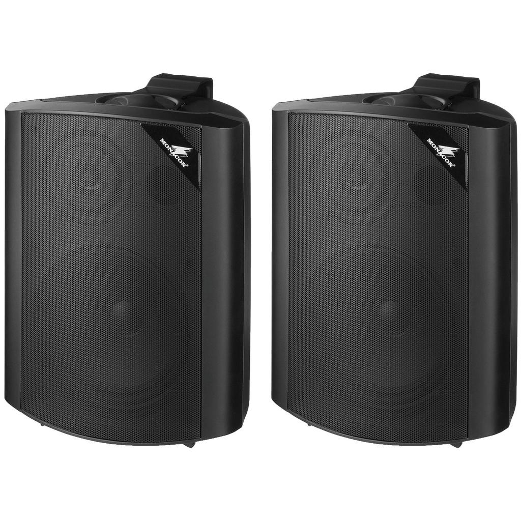Image of   2-vejs højttalersystem, 60 W, 4 Ω - sæt sorte - MKS-64/SW