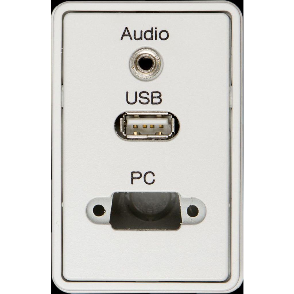 Billede af Fugapanel minijackstik USB og VGA - ANT-4VUAA