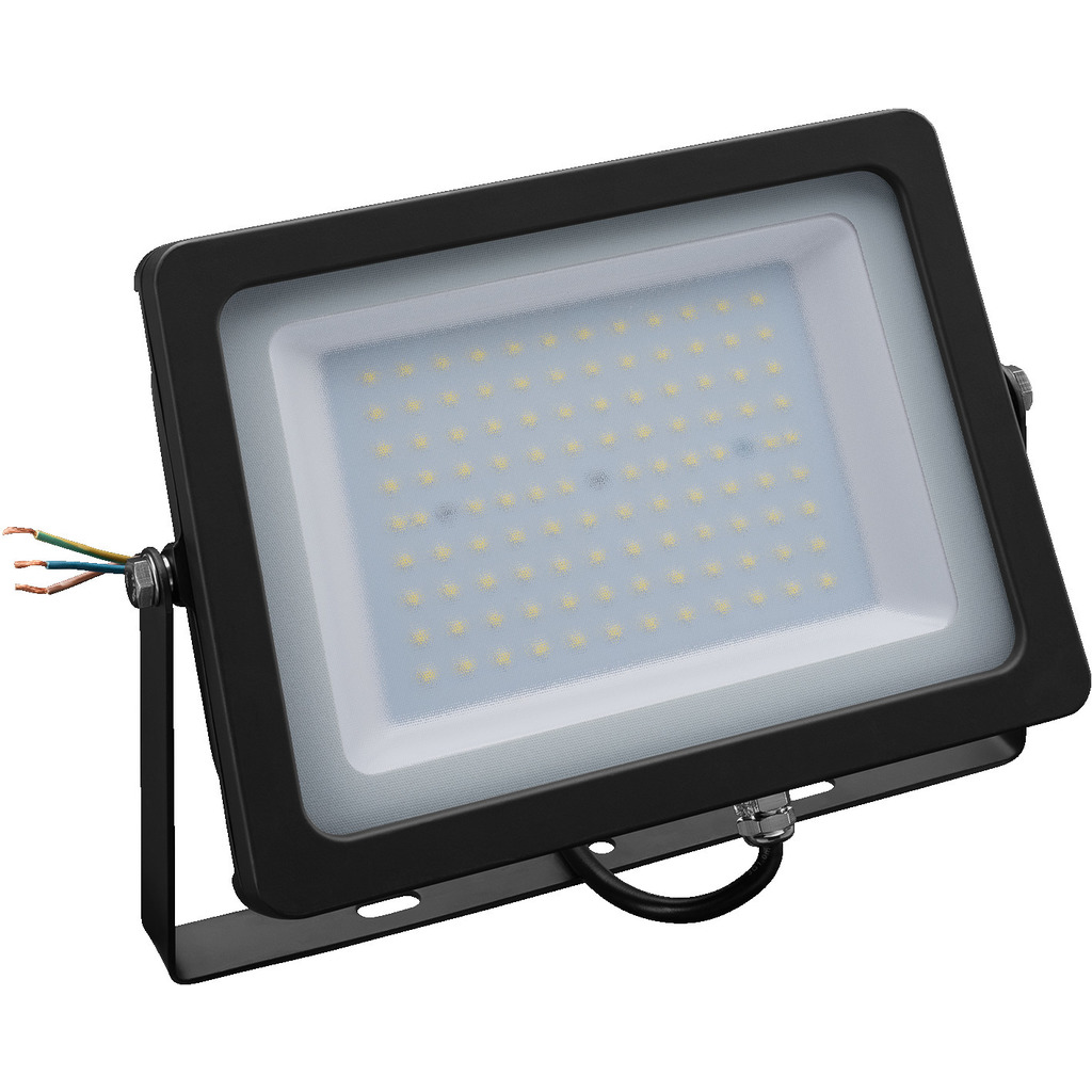 LED projektør 100W – IP 65 – LDFS-100/WS