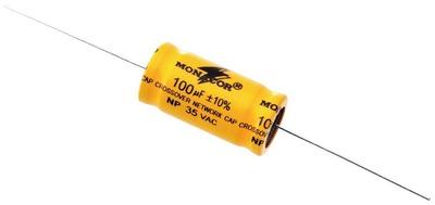 Image of   100 uF Bipolar Elektrolyt Kondensatore 2 stk