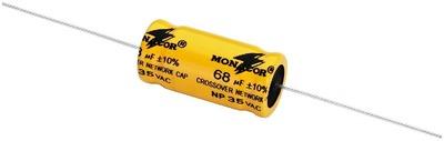Billede af 68 uF Bipolar Elektrolyt Kondensatore 2 stk