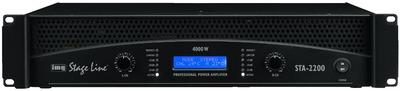 Billede af STA-2200 PA-forstærker 2x1100Wrms