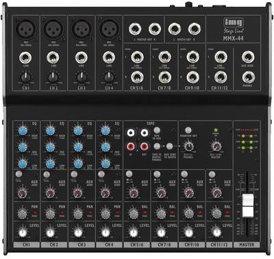 Image of   8-kanals mixer med 12 indgange. - MMX-44