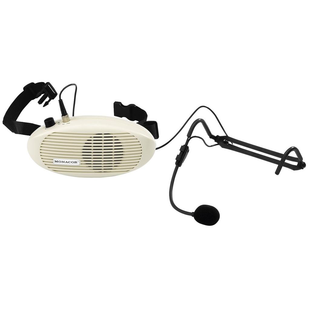 WAP-4 Stemmeforstærker med bælte og headset