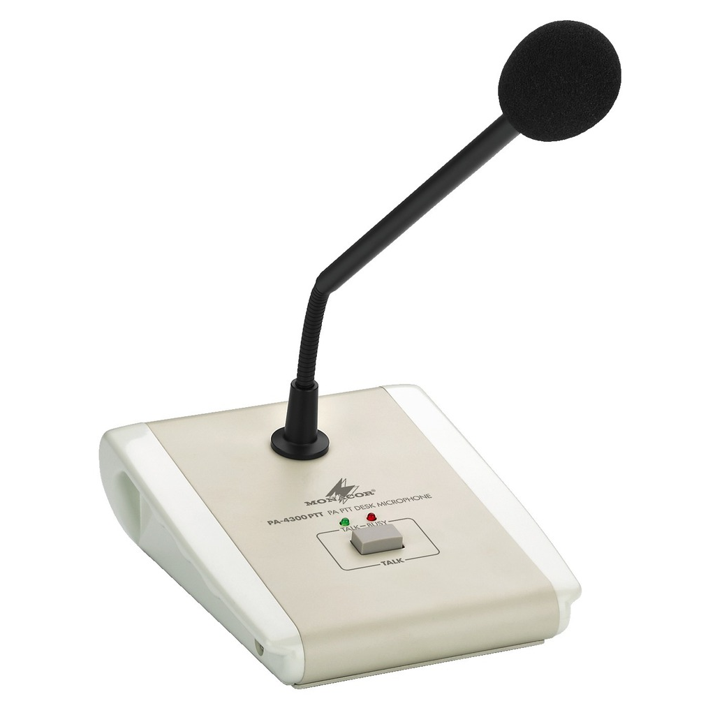 PA-4300PTT Bordmikrofon med tryk for tale funktion