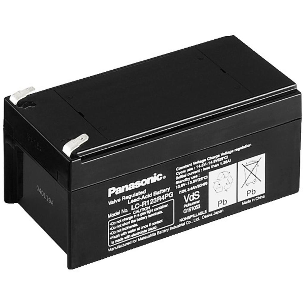 Billede af 12 Volts Batterier - Panasonic