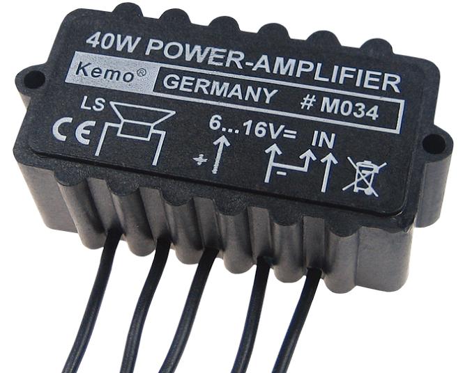 Billede af Forstærker Modul 40 Watt - KEMO K-40 forstærker