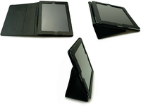 Image of   Sandberg Cover stand iPad 2/3/4 Leather