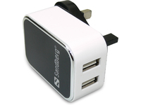 Image of   AC Charger Dual USB 2A UK