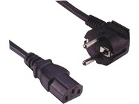 Image of   Sandberg 230V Cable GSTUV PC-Wall 1.8 m