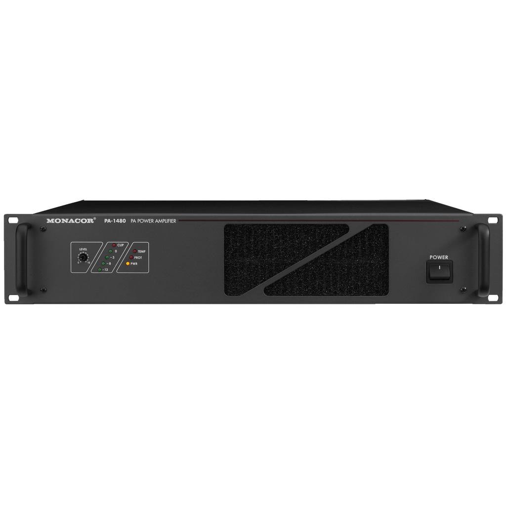 PA-1480 100 volt PA-forstærker 1x480Wrms