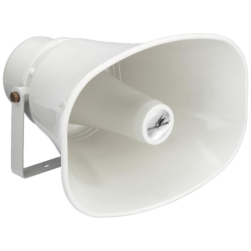 Vandtæt hvid hornhøjttaler Monacor - IT-130