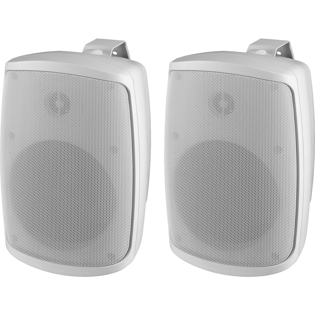 Højttalersæt 100Wmax hvid udendørs IP-65 - WALL-06/WS thumbnail