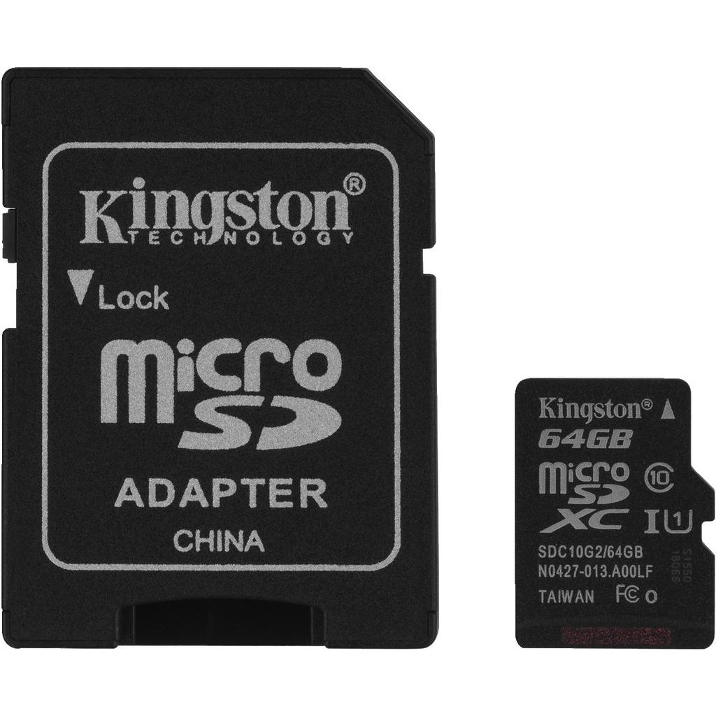 Image of   Mikro SD-kort 64GB - SD-64MICRO