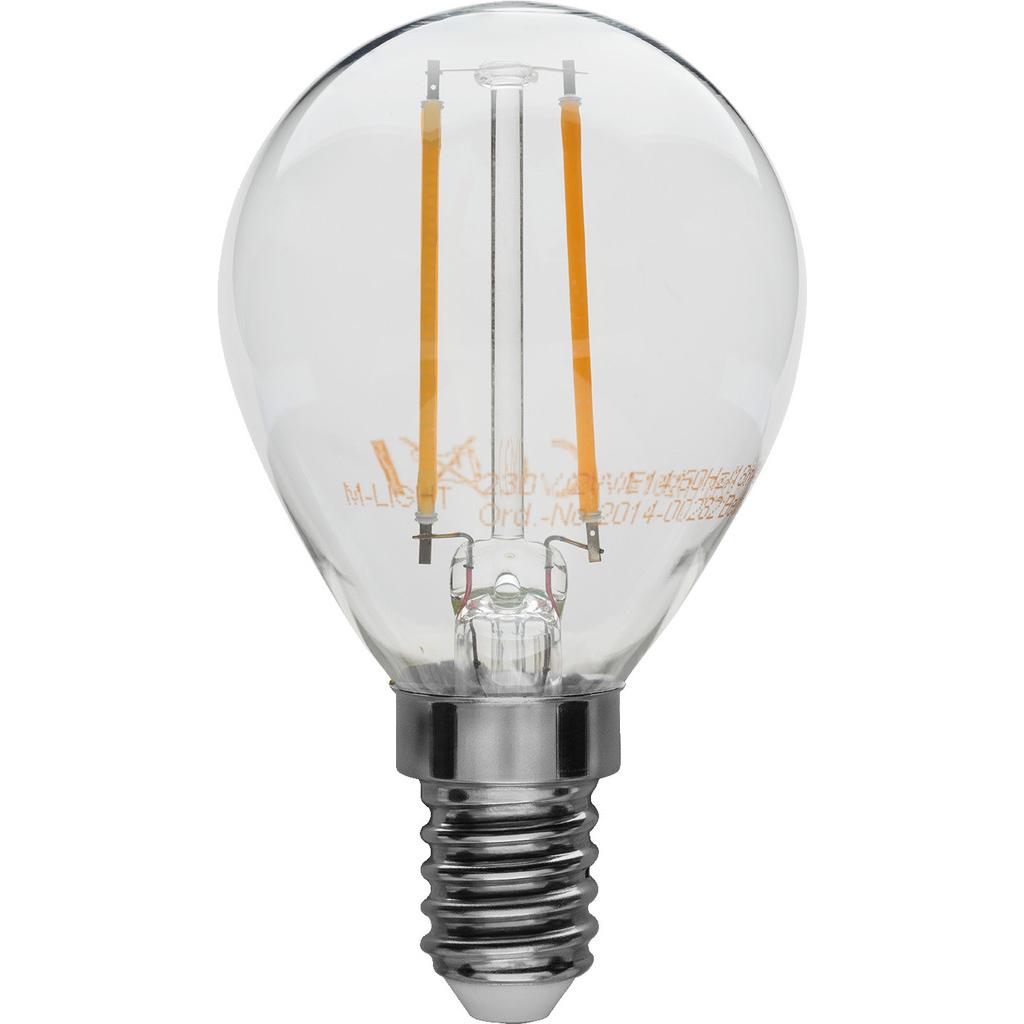 Billede af LED E 14 pære - LDB2-142G/WWS
