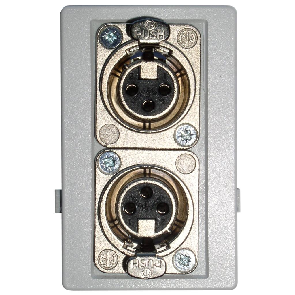 Fuga panel 2 stk XLR stik hun - ANT-11C thumbnail