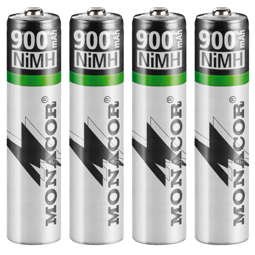 Image of   Batteripakke NIMH AAA - NIMH-900R/4