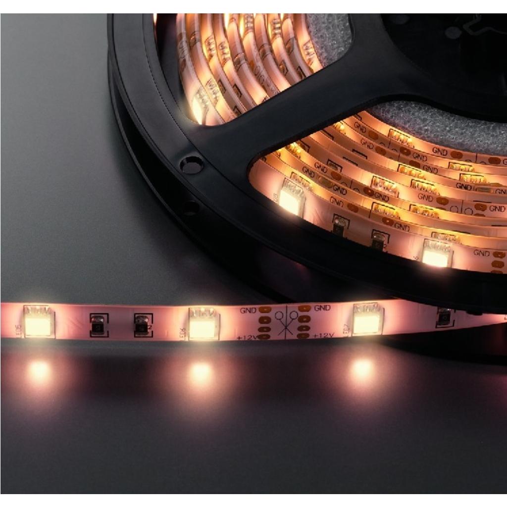 LED Lysslange varm hvid 5 meter 150 dioder - LEDS-55MP/WWS