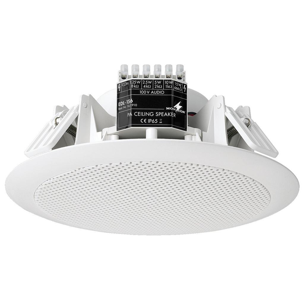 Vandtæt indbygnings højttaler IP 65 - EDL-156