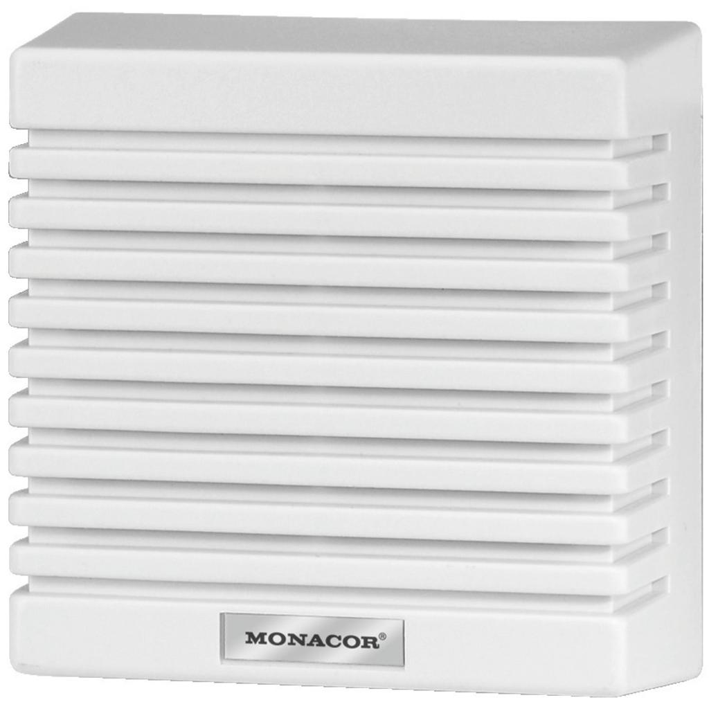 Væg højttaler - Monacor SPE-85/WS
