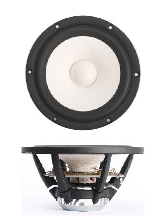 "SB Acoustics MR13PNW-4ohm  5"" Satori, midrange, white cone thumbnail"