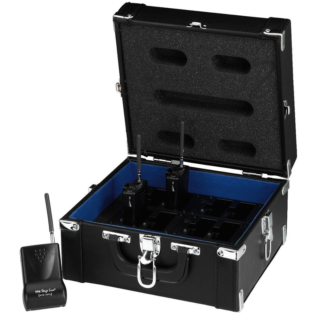 Image of   ATS-12C Multioplader til ATS-10 - kufferet Monacor