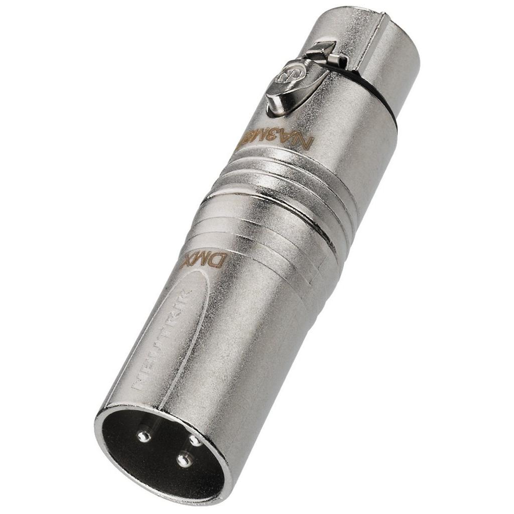 Billede af Neutrik XLR-adapter - NA-3M5F