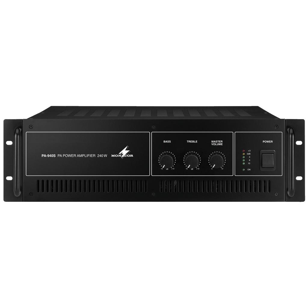 PA-forstærker 1x240Wrms 100 volts system - PA-940S