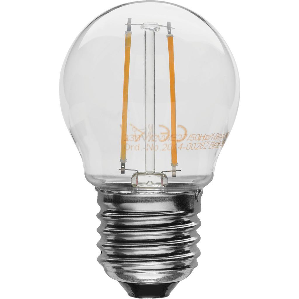 Billede af LED E27 lyskilde - LDB2-272G/WWS