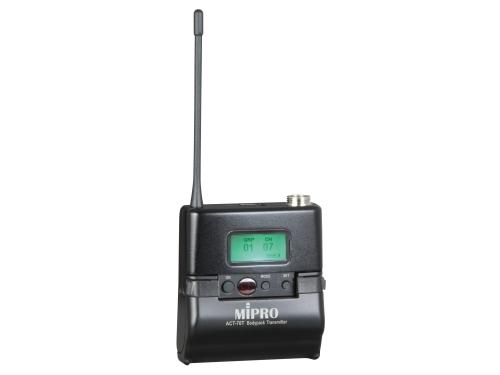 Billede af Mipro lommesender metal 8B frekvens 850 til 874 MHz