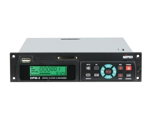 Image of   Mipro digital audio USB/SD player & recorder modul