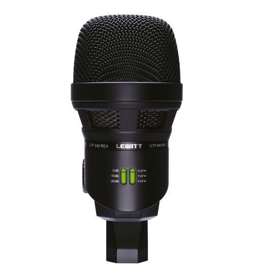 Lewitt DTP640REX Stortromme mikrofon