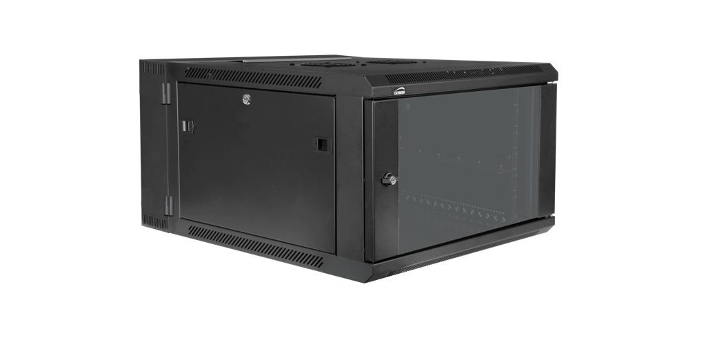 Caymon rack for vægmontering 450 + 100 mm dyb, 9 unit
