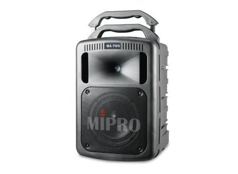 Image of   Mipro højttaler MA808 transportabel system m/Bluetooth og CD
