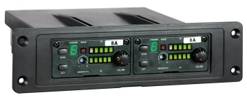 Mipro MRM72 dobbelt plug-in ACT receiver 6A freq. 620-644 Mh