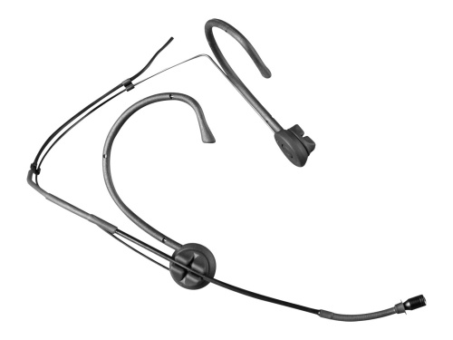 Image of   Mipro headset mikrofon MU55 med 5 mm kugle kapsel, Sort