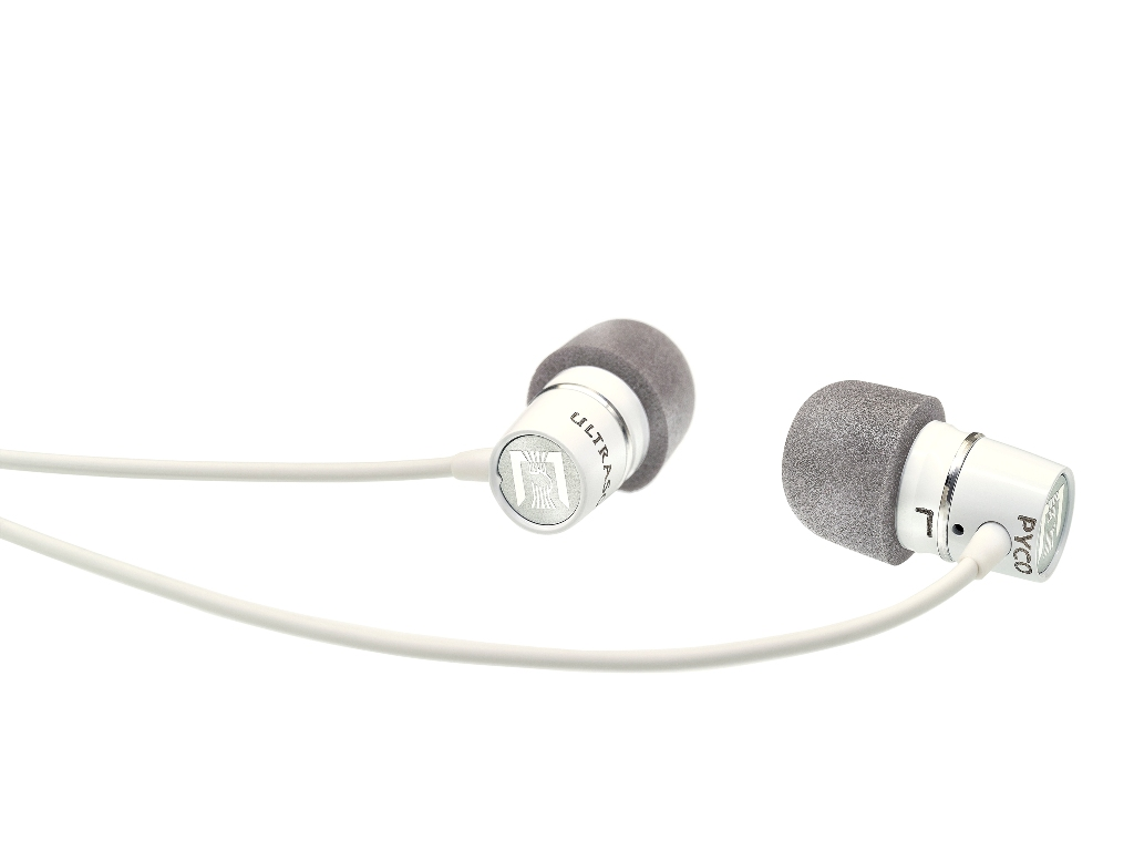 Ultrasone Pyco In-Ear headsæt, hvid