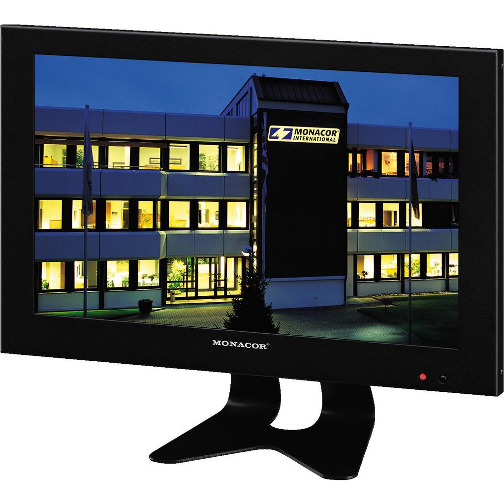 """Image of   LED Monitor 10"""" til overvågning - TFT-1002LED"""