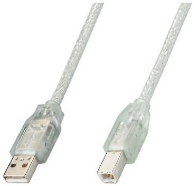 Billede af 1 mtr USB 2 Kabel Guldbelagt