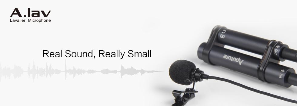 Image of Knaphuls mikrofon til Iphone, android, laptop og kamera - Aputure A Lav