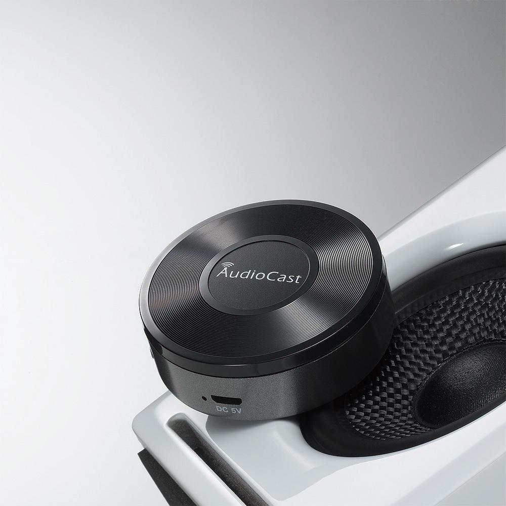 Trådløs lyd – Wi-fi Modtager til anlæg og aktive højttaler – AudioCast M5