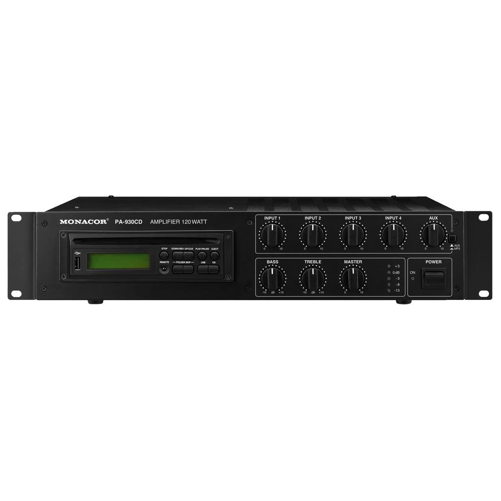 PA-930CD PA-forstærker med CD 120Wrms