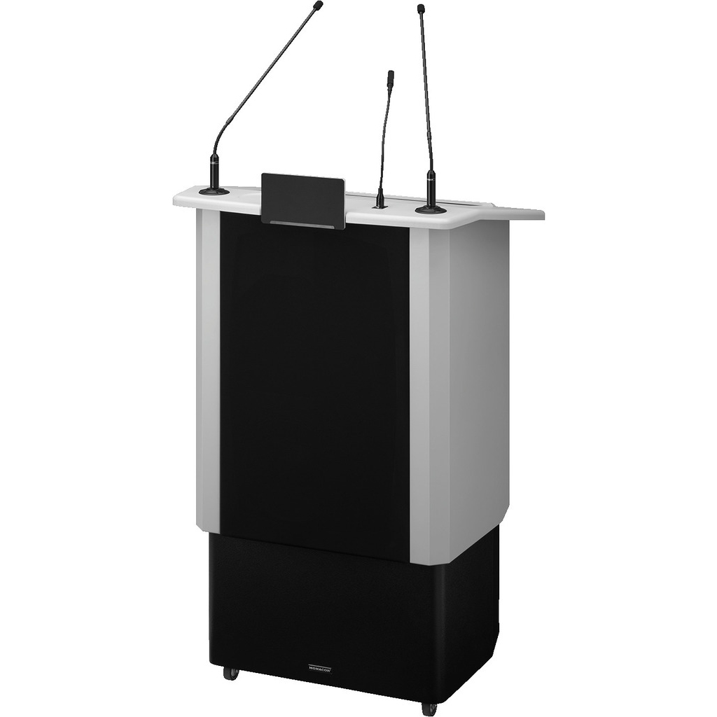Talerstol med lydsystem - chrom - SPEECH-500/GR