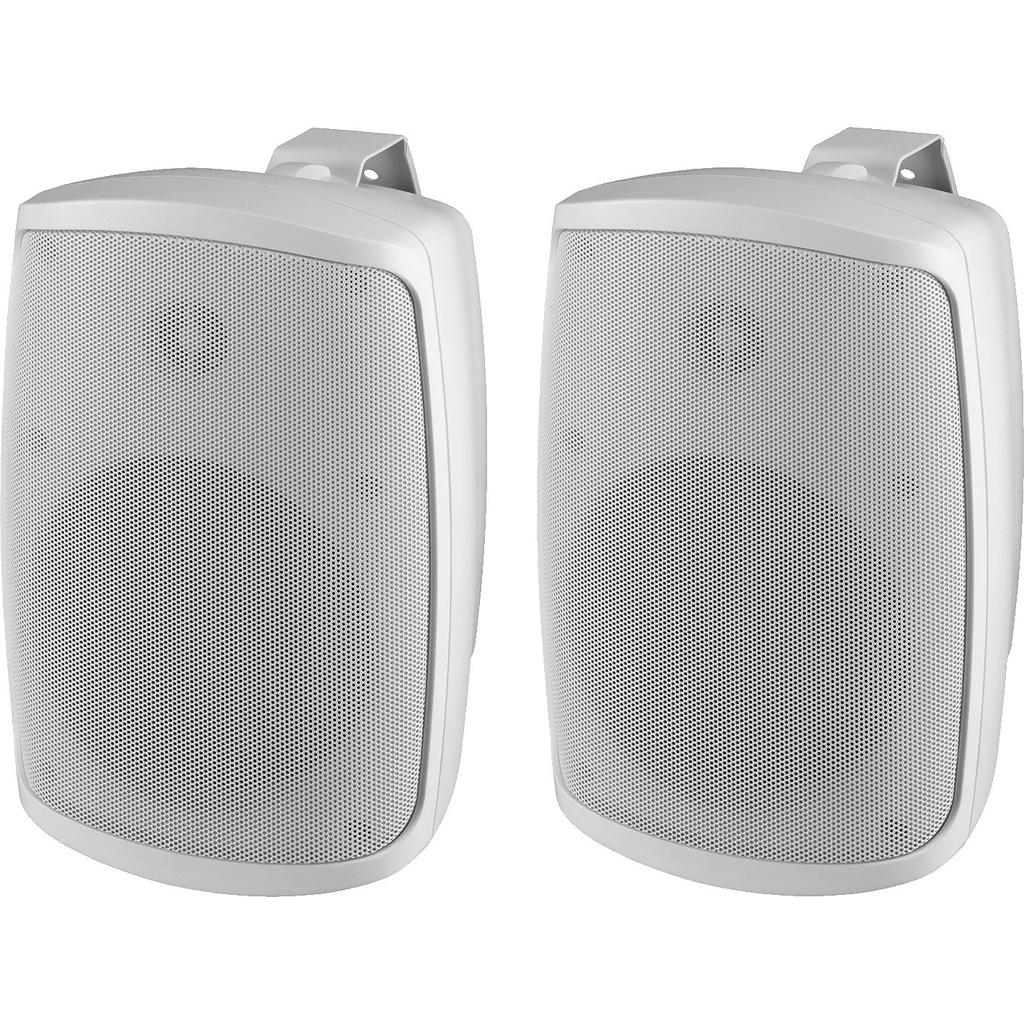 Højtalersæt i hvid vandtæt ip-65 - WALL-05/WS thumbnail