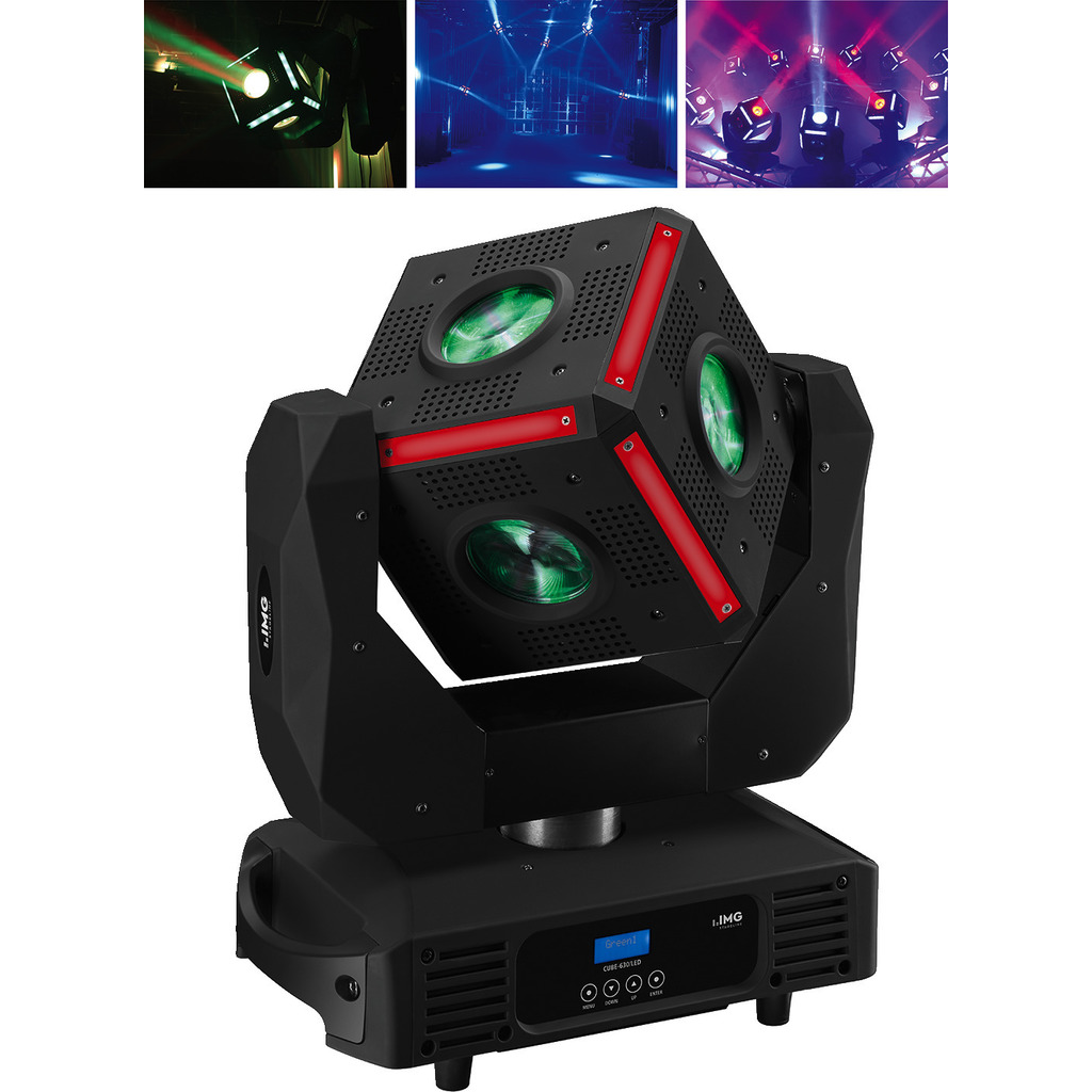 Billede af LED moving head cube - CUBE-630/LED