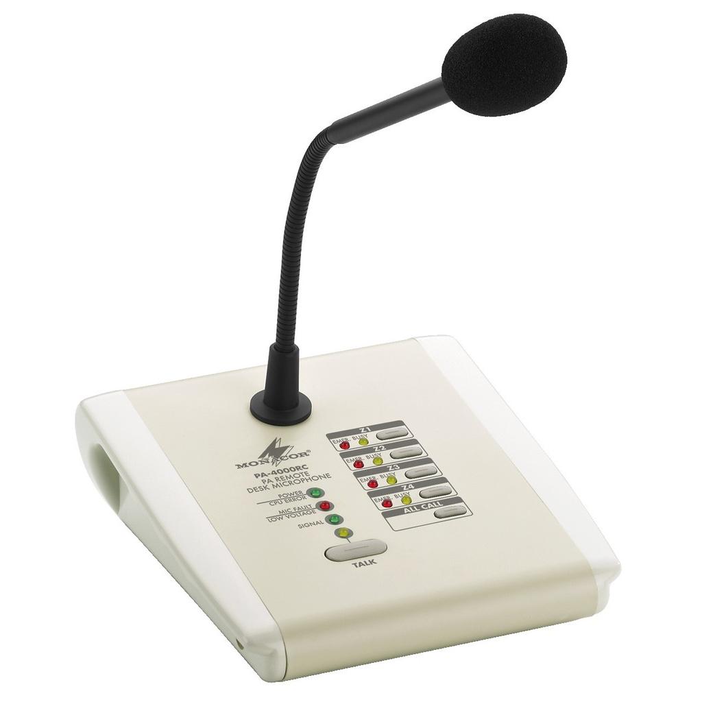 PA-4000RC Bordmikrofon til PA-40120